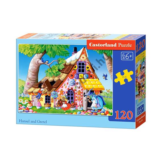 Jancsi és Juliska 120db-os puzzle