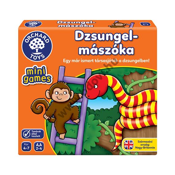 Dzsungel mászóka mini társasjáték