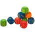 Kép 1/2 - Habszivacs dobókocka pöttyökkel (zöld)