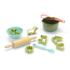 Kép 1/2 - Dantoy BIO műanyag cukrász készlet - cukornádból