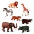 Kép 1/2 - Dzsungel állatok, 7 figura