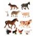Kép 1/2 - Farm állatok, 11 figura