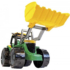 Kép 2/3 - Óriás traktor homokrakodóval sárga/zöld 62 cm