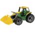 Kép 1/3 - Óriás traktor homokrakodóval sárga/zöld 62 cm