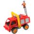Kép 1/2 - Tűzoltóautó vízpumpával és figurával 31cm