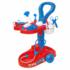 Kép 1/2 - Piros-kék orvosi kocsi kiegészítőkkel