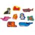 Kép 2/2 - Tengeri állatok formapuzzle