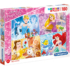 Kép 1/2 - Disney Hercegnők Supercolor puzzle 180 db-os