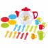 Kép 1/2 - Színes teázó készlet teáskannával és kiegészítőkkel