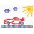 Kép 4/5 - Mozaik Kristály pötyi kreatív szett 10mm 260db-os