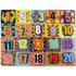 Kép 1/2 - Számok formaillesztő óriás fa puzzle
