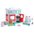 Kép 2/2 - Állatkórház játék készlet figurával